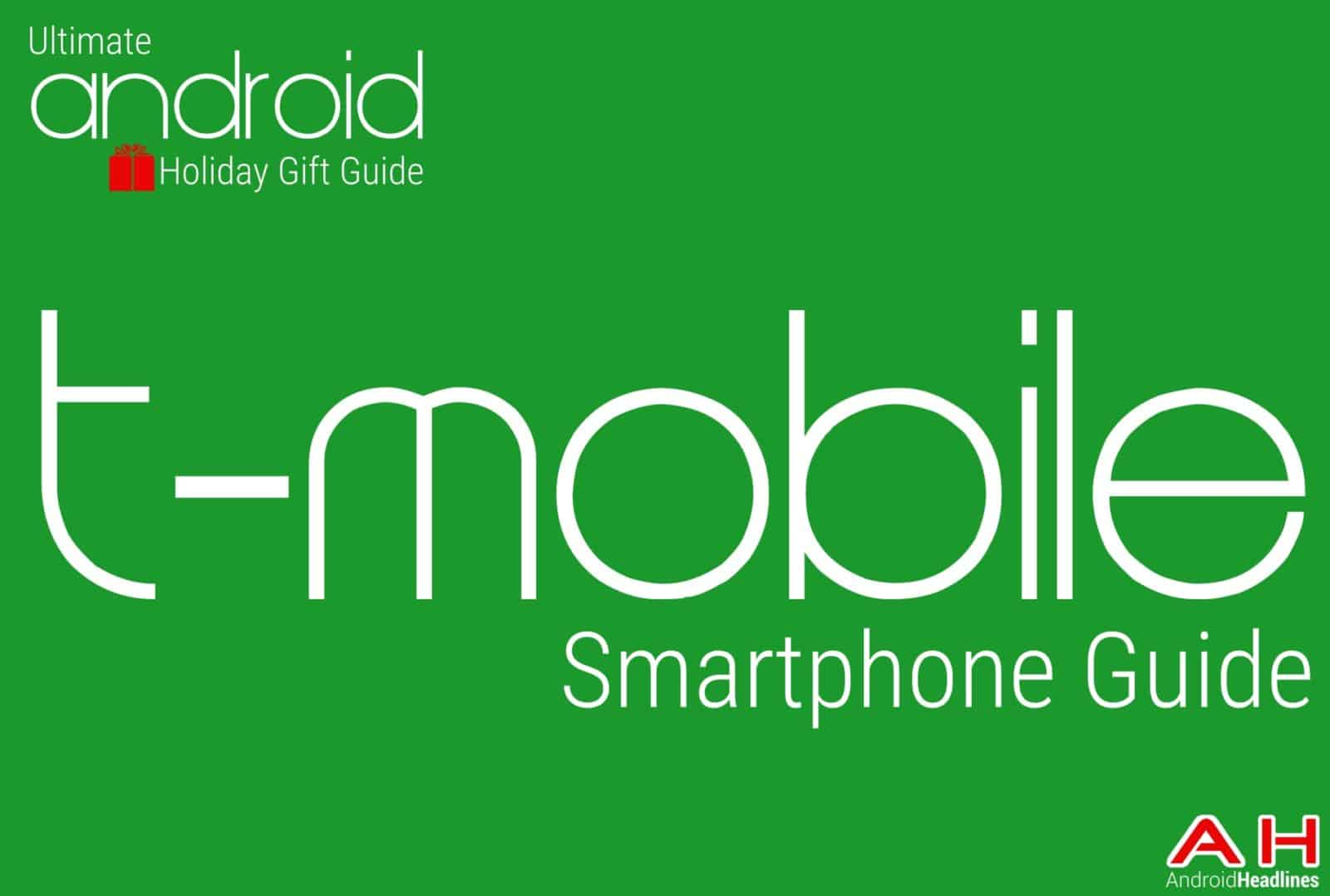 Android t-mobile Smartphones Guide - Holiday Gift Guide Main Image