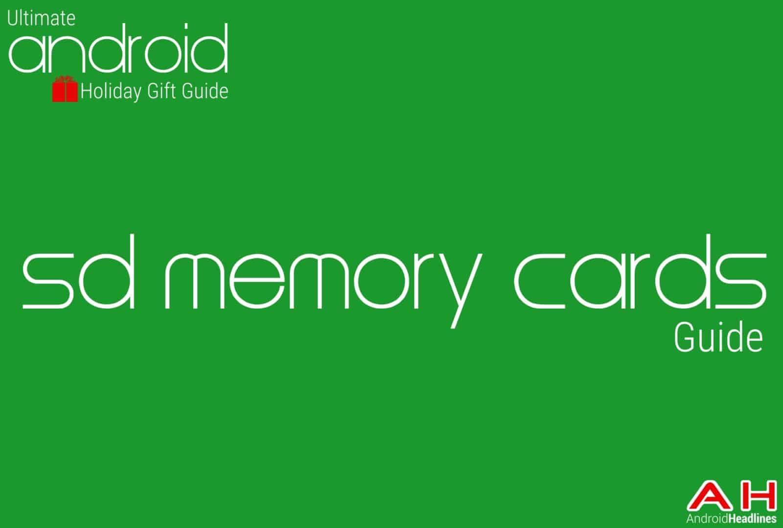 Best Android SD Memory Cards Guide - Android Holiday Gift Guide Top 10
