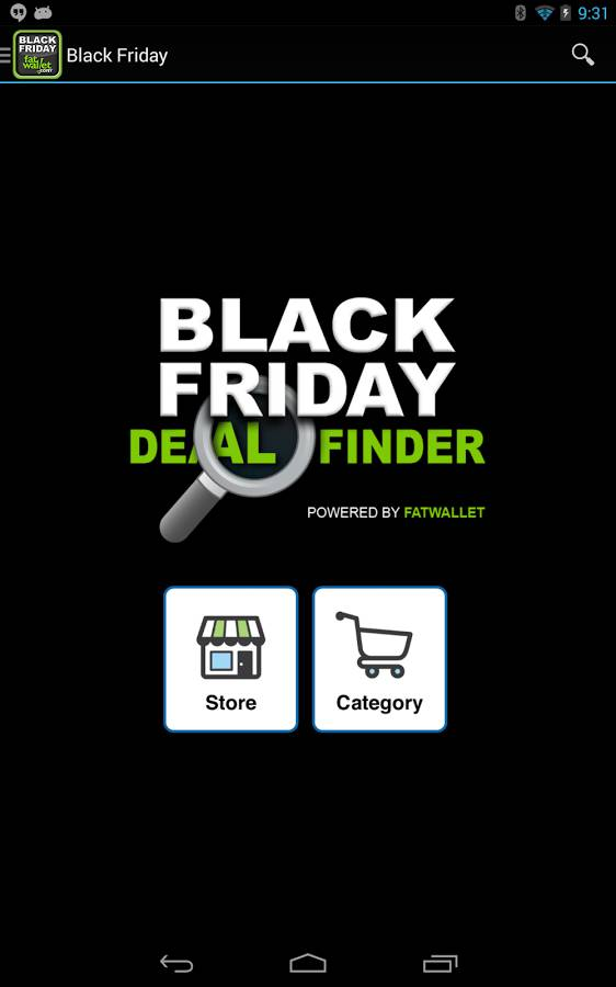 Black Friday Deal Finder