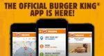 Burger King App Main