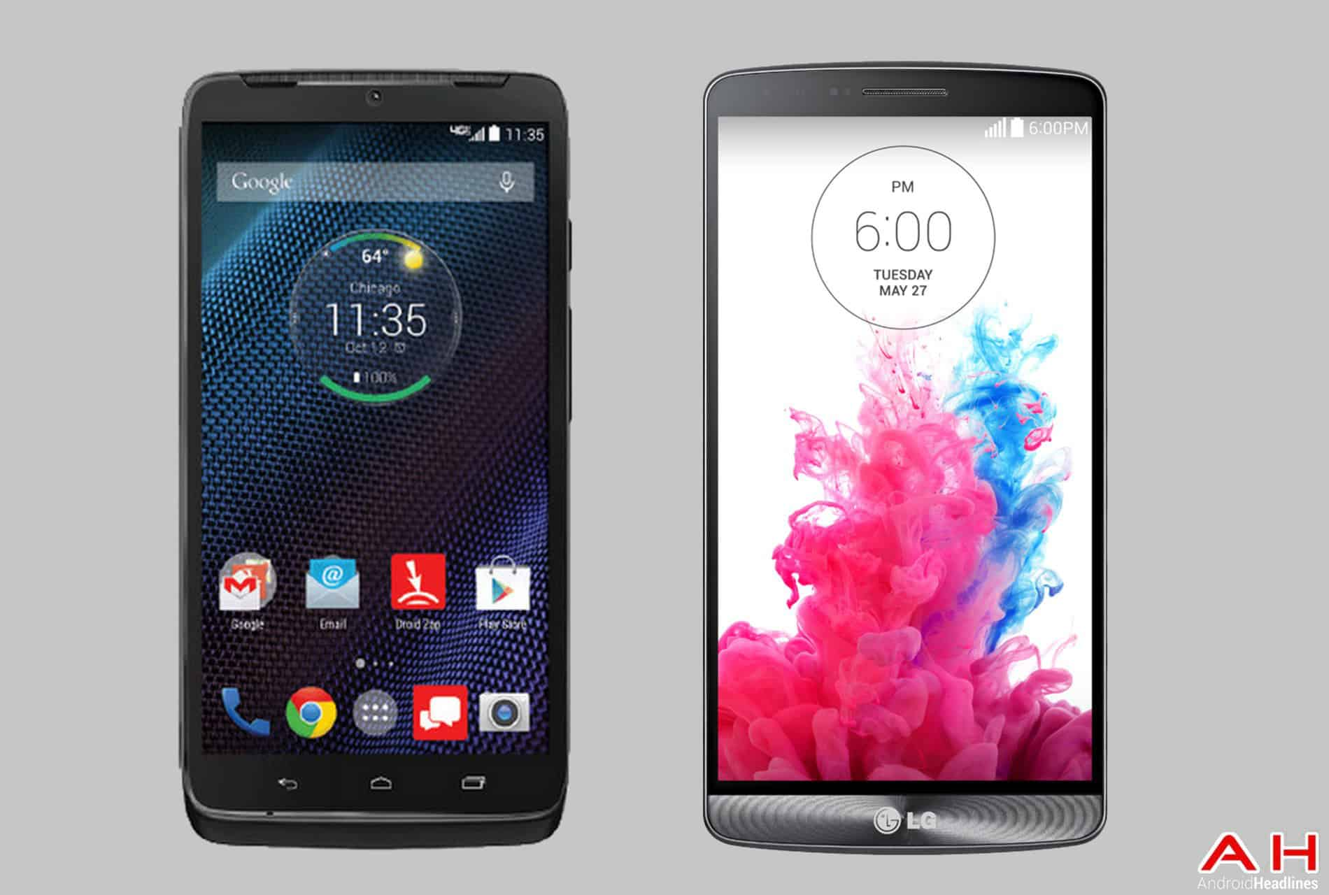 Phone Comparisons Motorola Droid Turbo Vs Lg G3