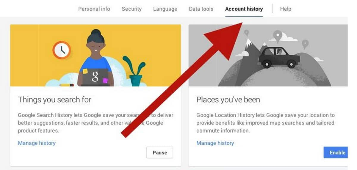 Google Personal Information