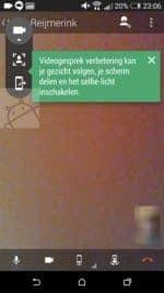 Hangouts app screen share function_1