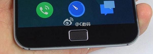 Meizu MX4 Pro leaked fingerprint scanner