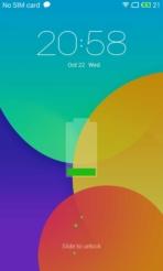 Meizu mx4 lockscreen charging
