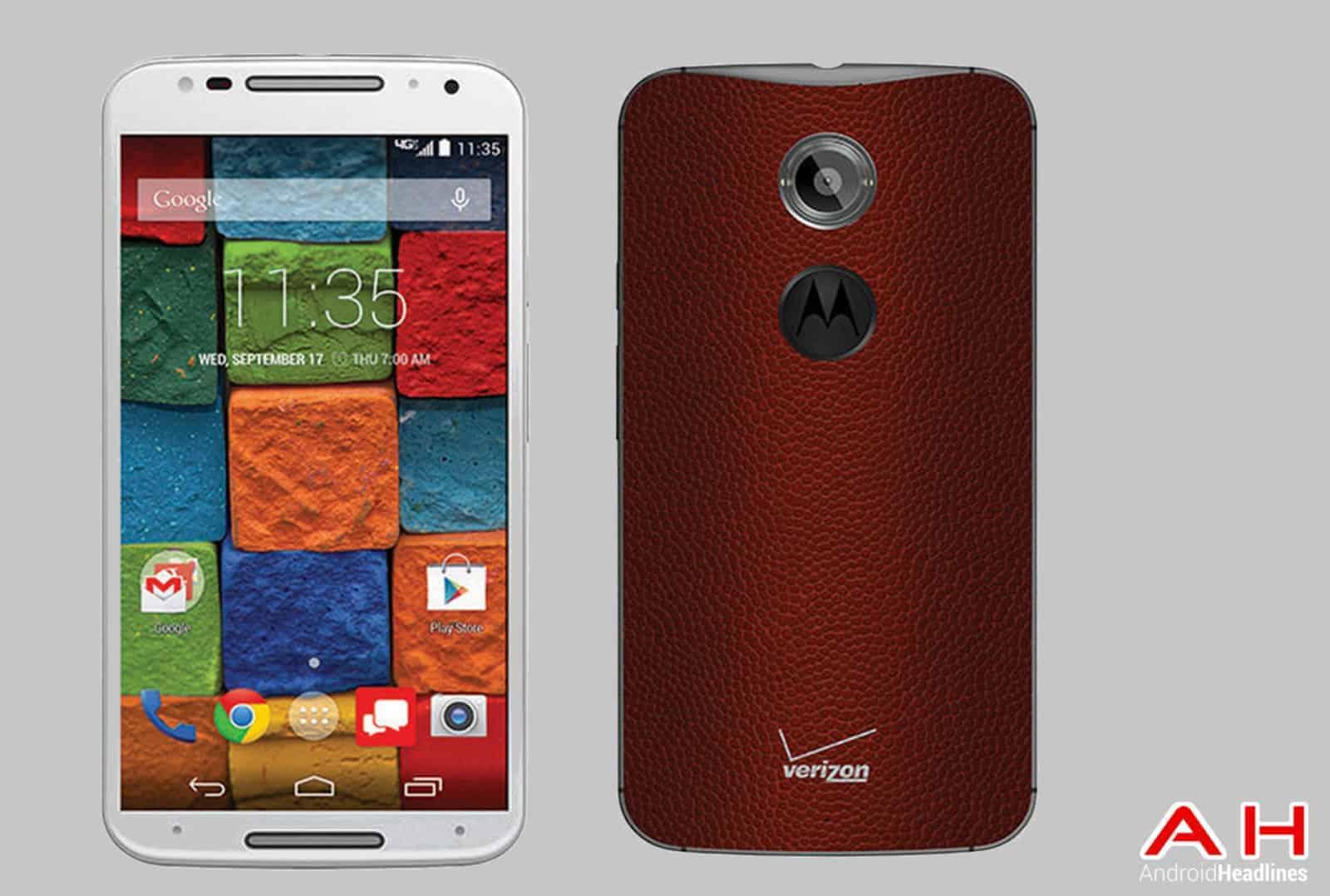 Moto X Verizon Football Exclusive cam AH