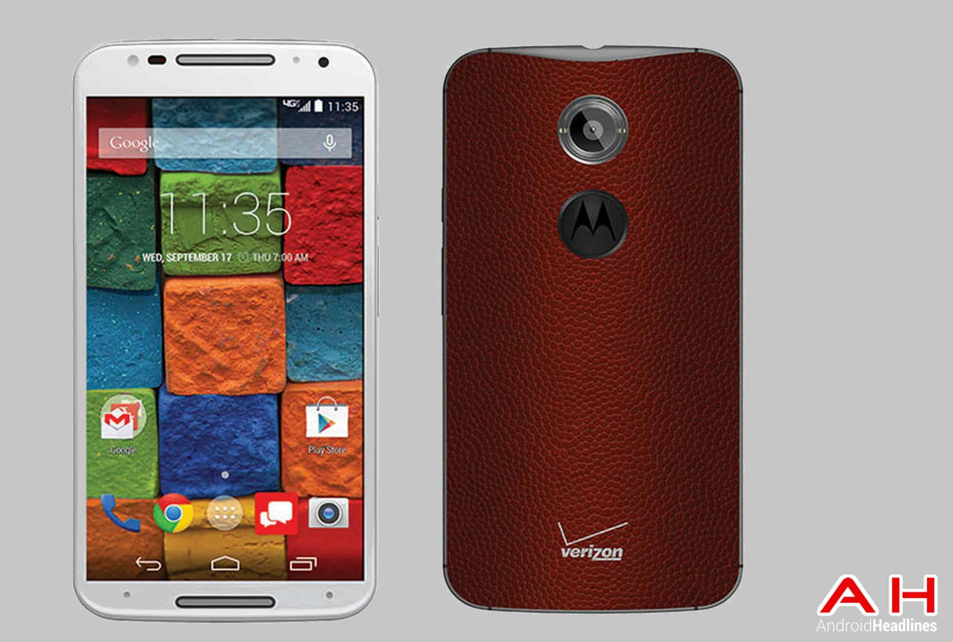 Moto X Verizon Football Exclusive cam AH