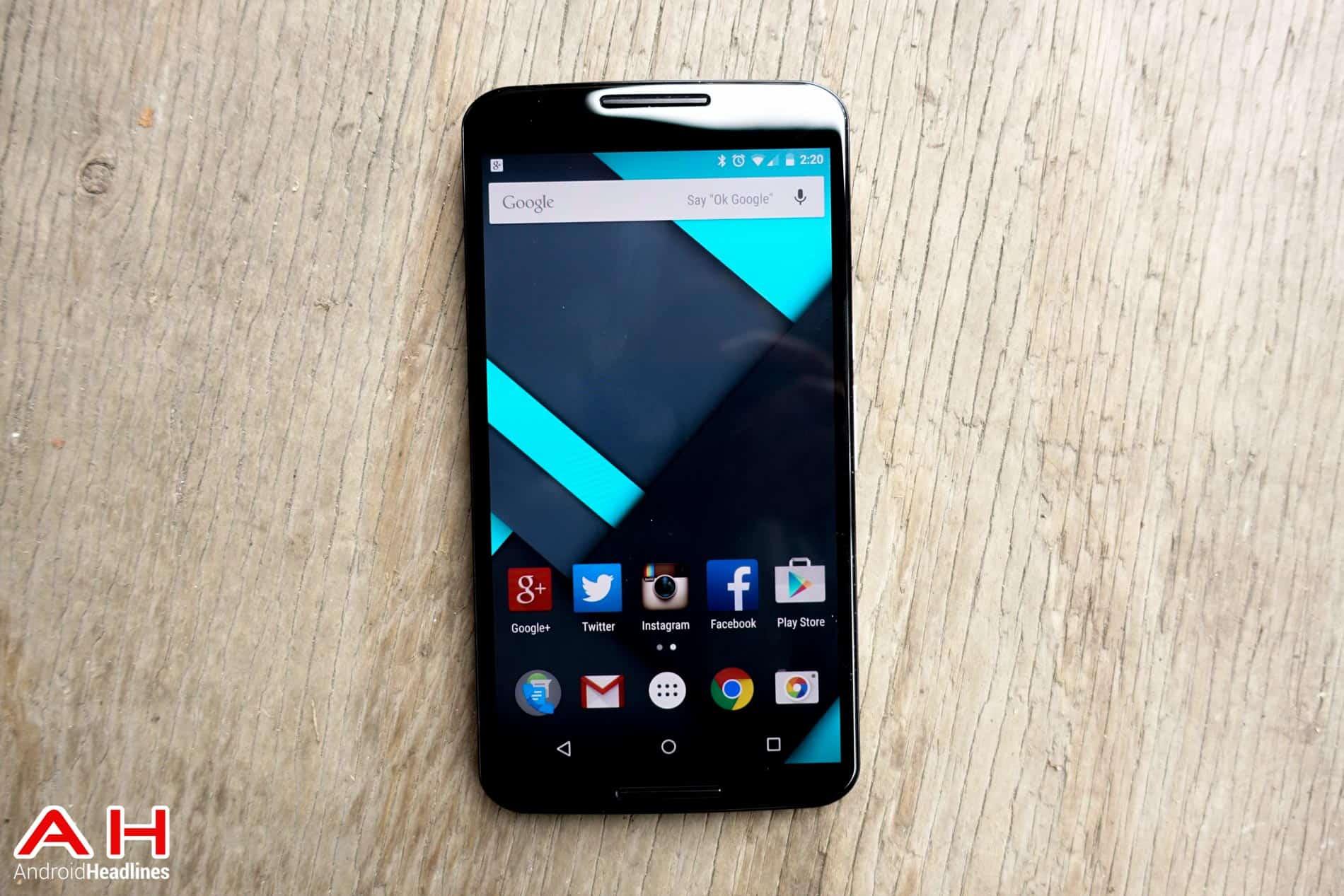 Nexus 6 AH 12