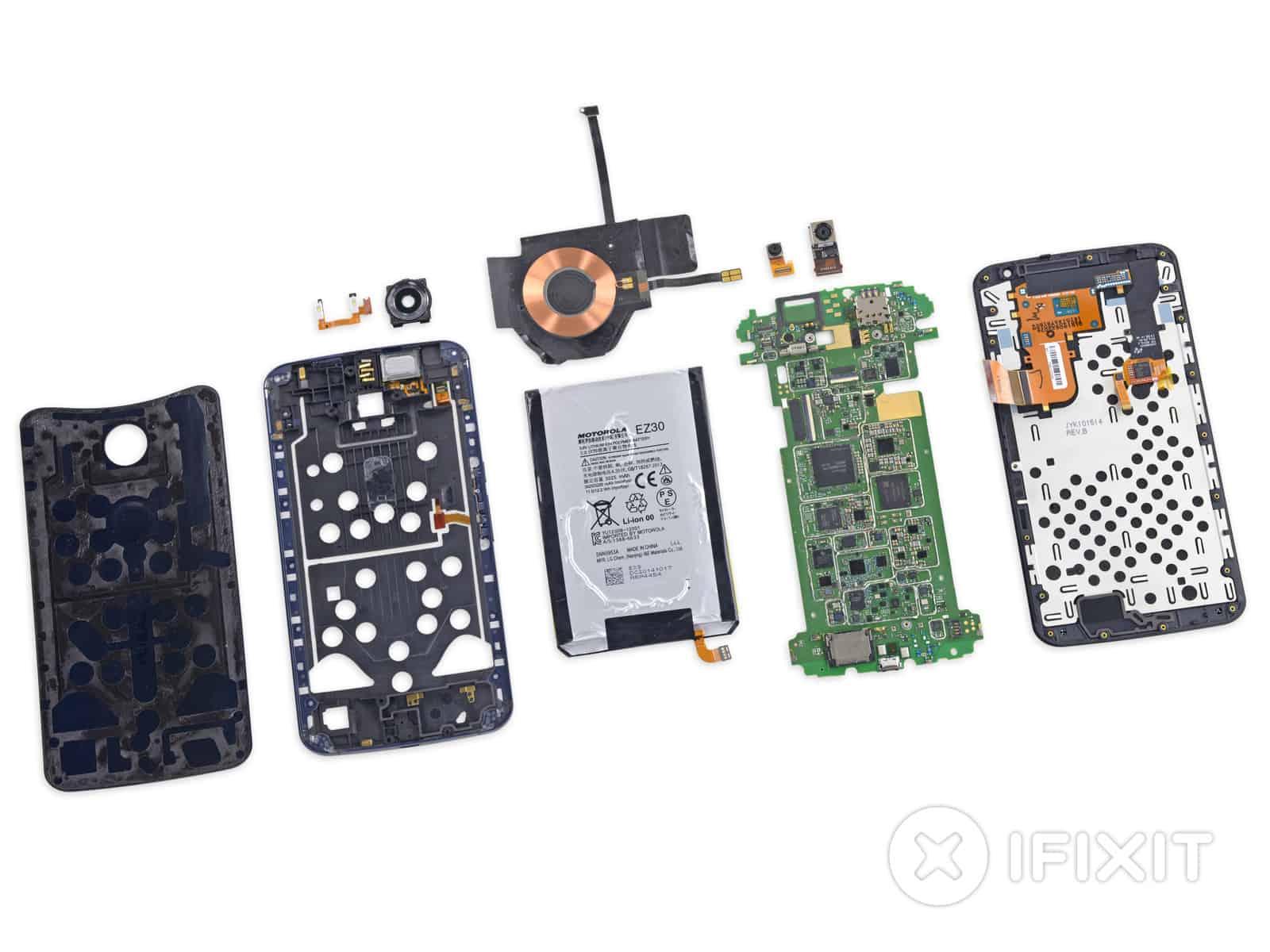 Nexus 6 iFixit teardown 14
