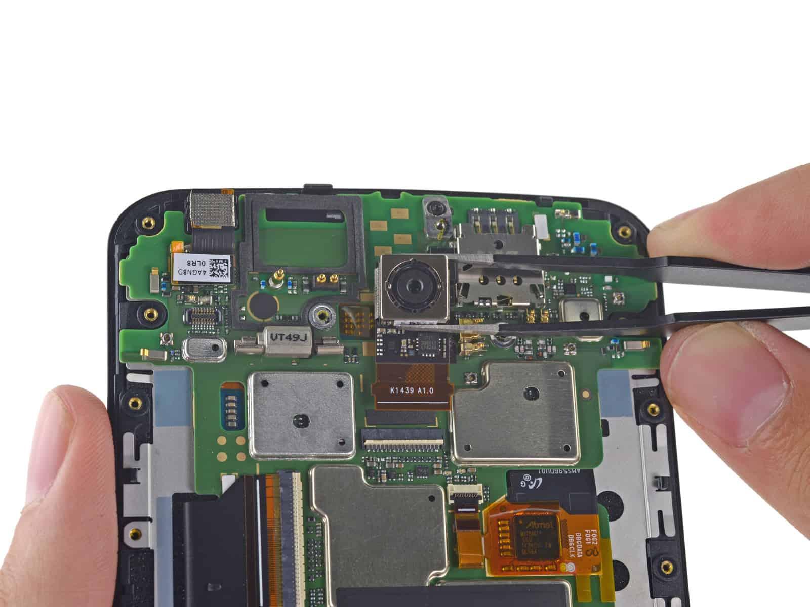 Nexus 6 iFixit teardown 8