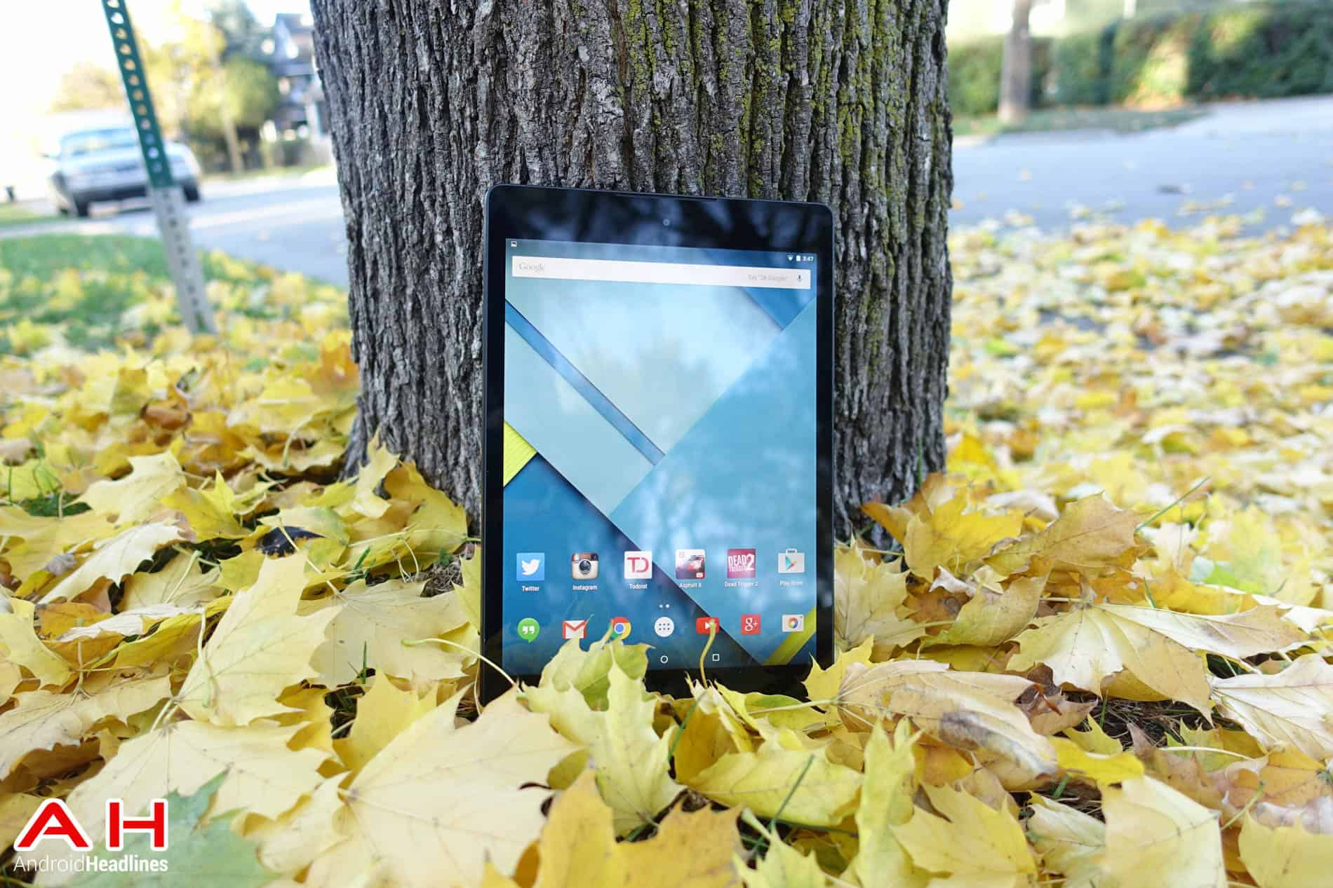 Nexus 9 review Leaves AH 10