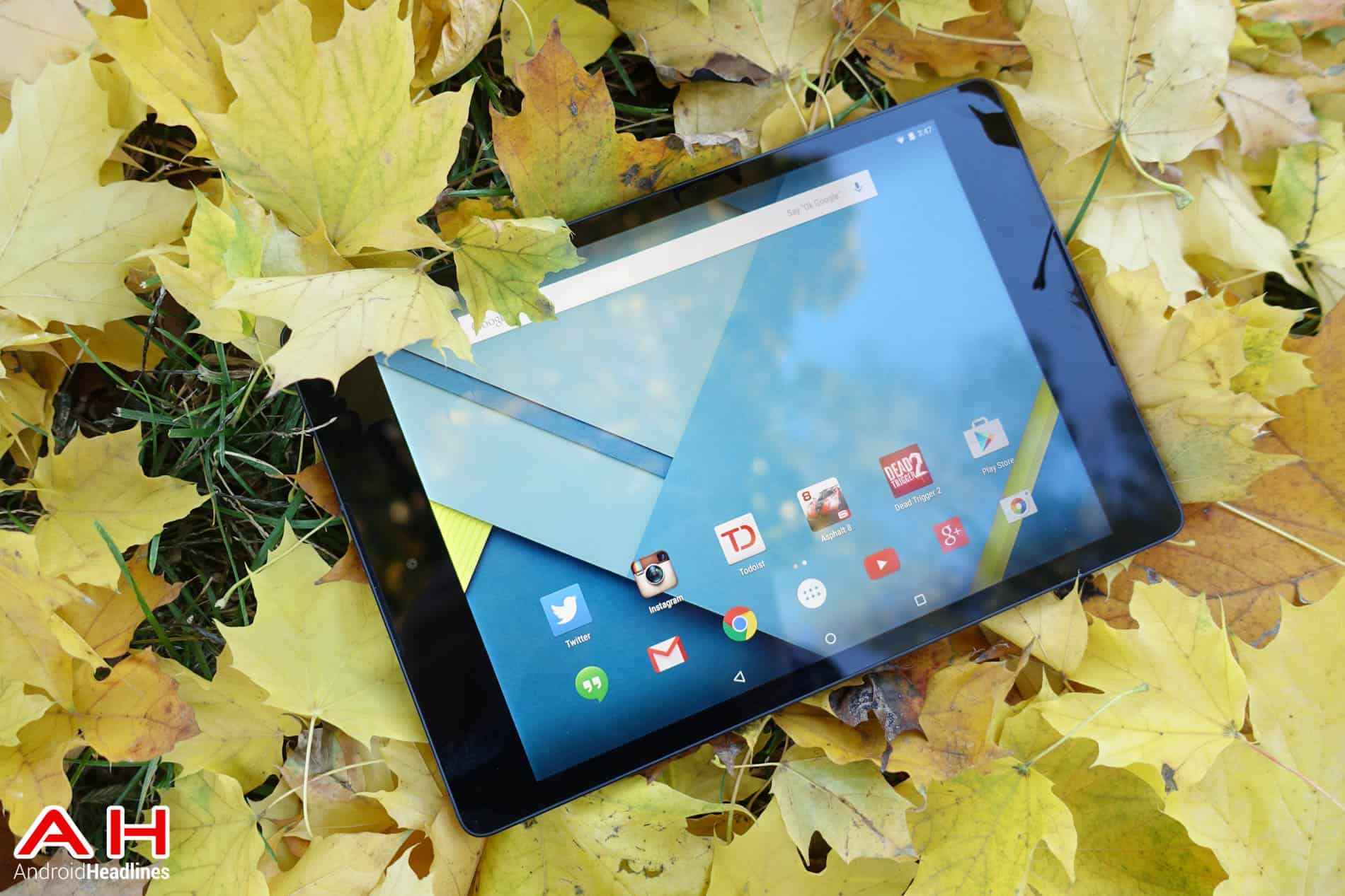 Nexus 9 review Leaves AH 8
