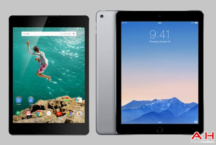 Tablet Comparison: Google Nexus 9 vs Apple iPad Air 2