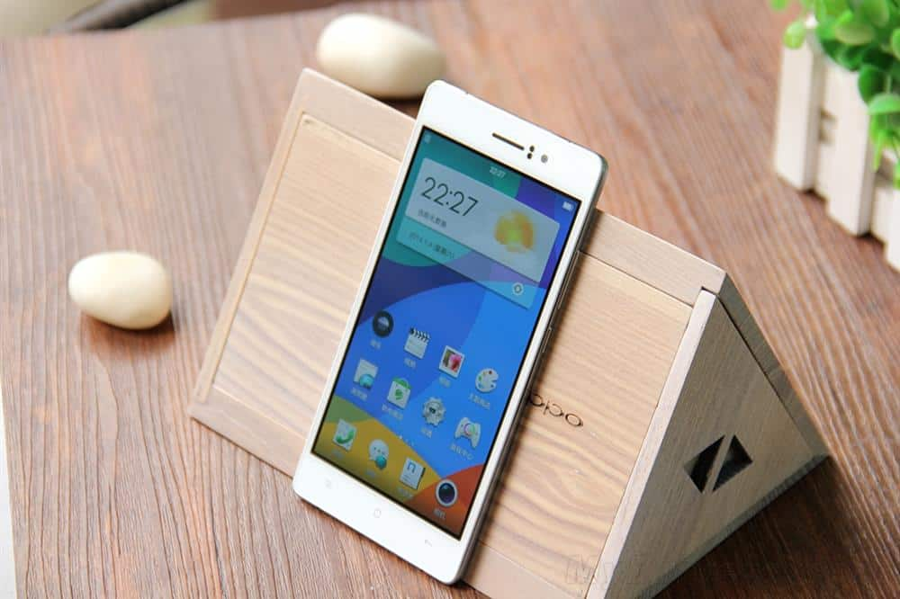 Oppo R5 unboxing 8