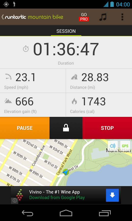 Featured Top Best Android Cycling And Biking Apps - Elevation measurement app