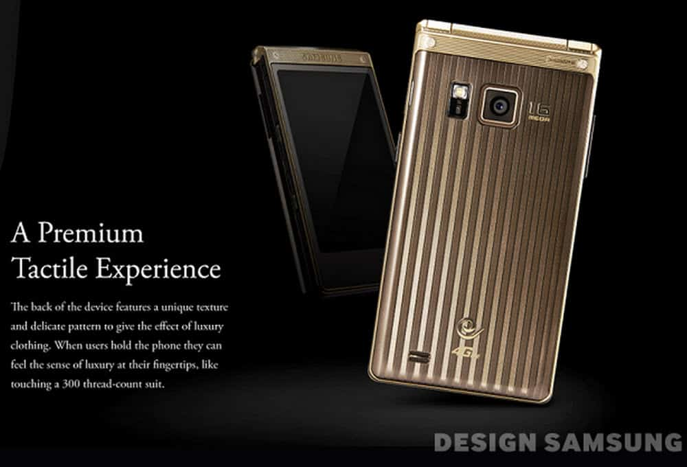 Samsung Flip Phone Prem Tactile Exp