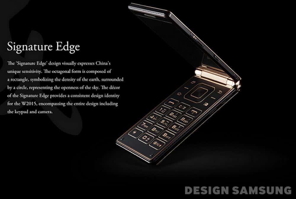 Samsung Flip Phone Signature Edge
