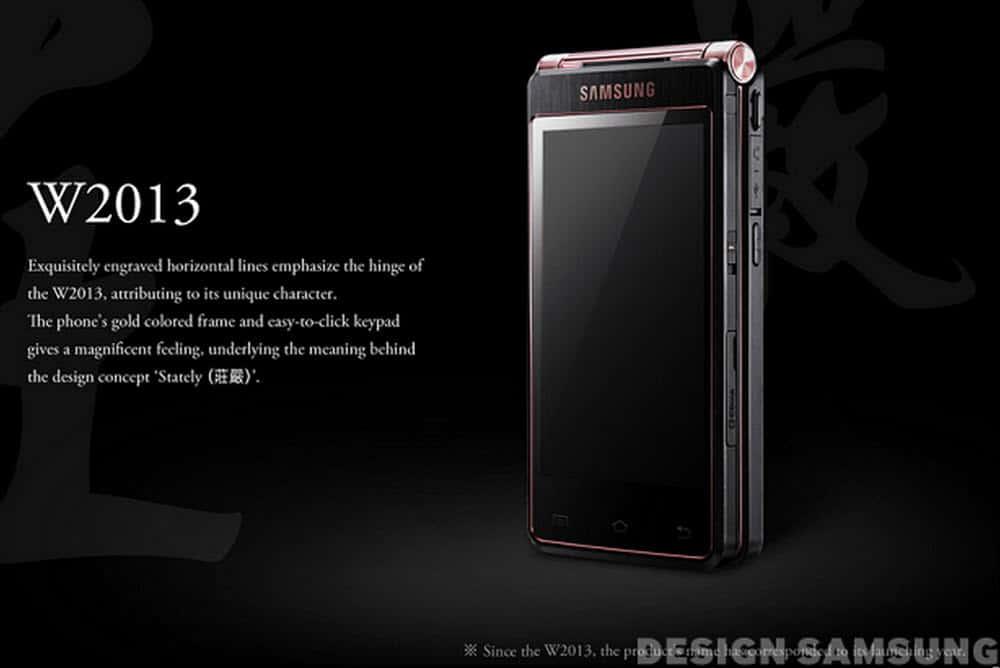 Samsung Flip Phone W2013