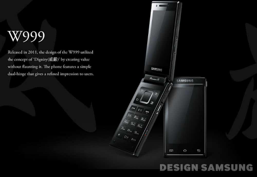 Samsung Flip Phone W999