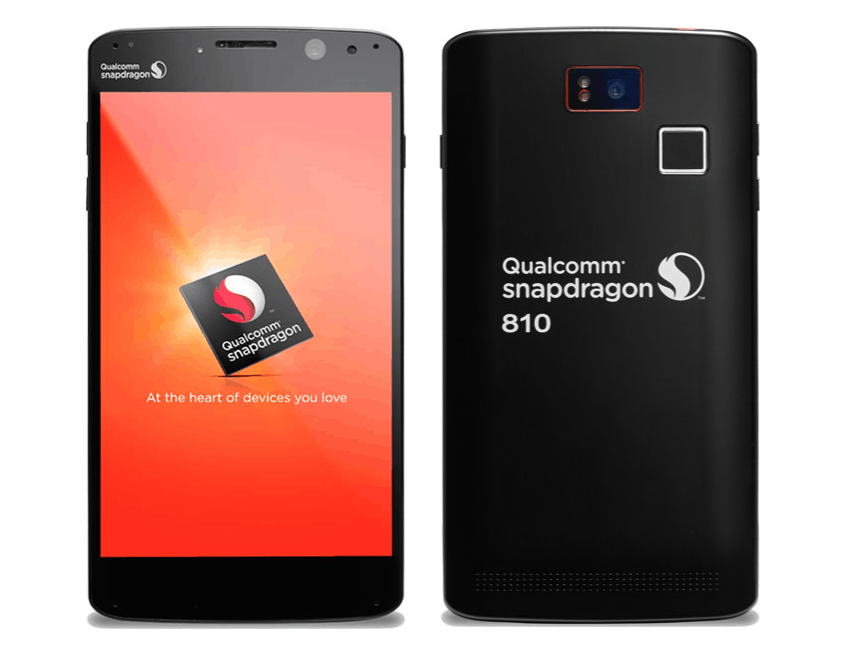 Qualcomm Snapdragon 810 reference smartphone
