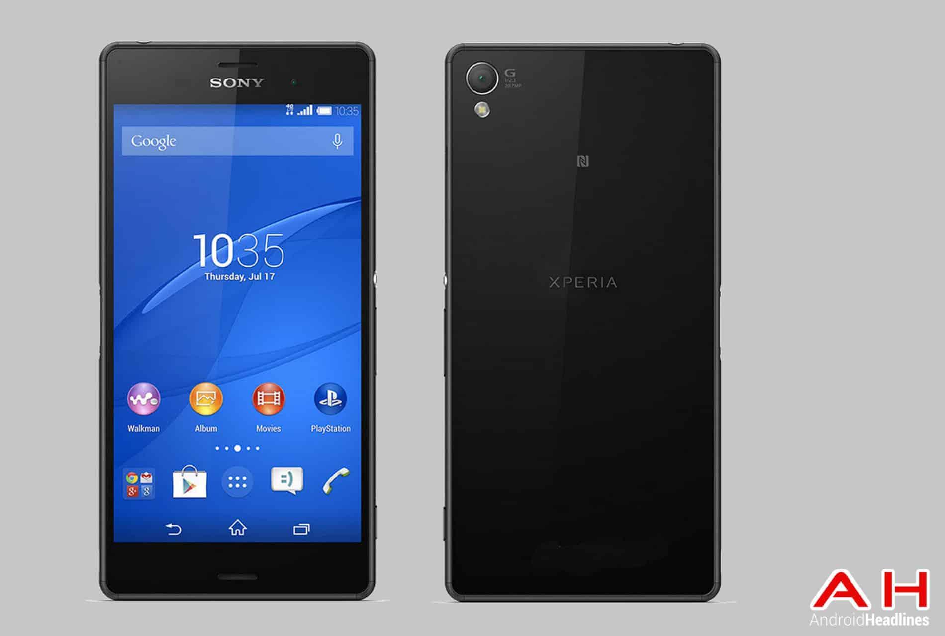 Sony Xperia Z3 F&F cam AH