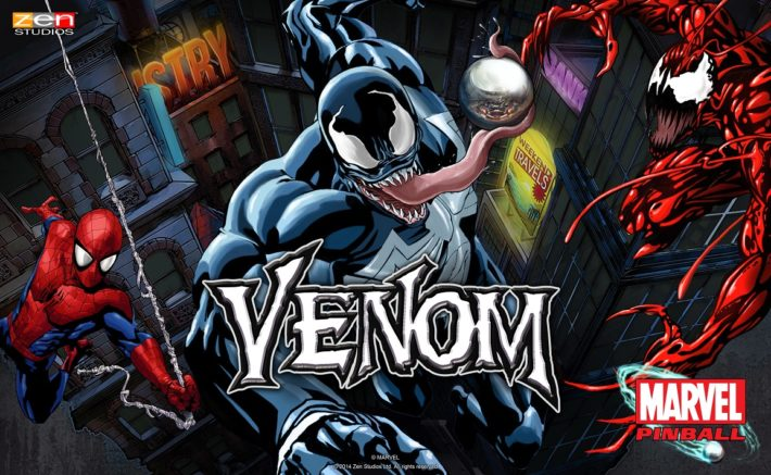 Zen Studios Will Be Adding A Venom Pinball Table To Their Marvel Themed Lineup