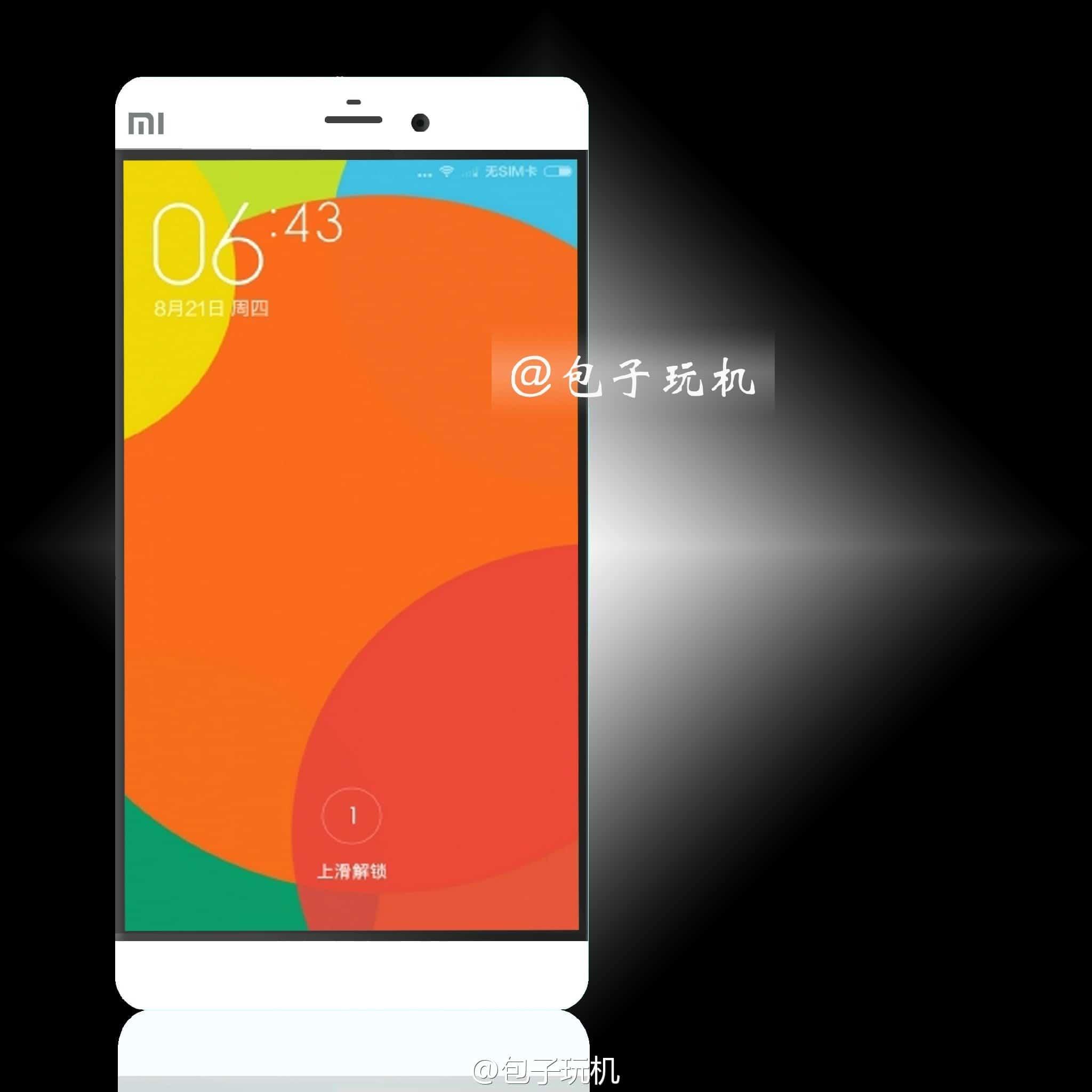 Xiaomi Mi4S - Mi5 render