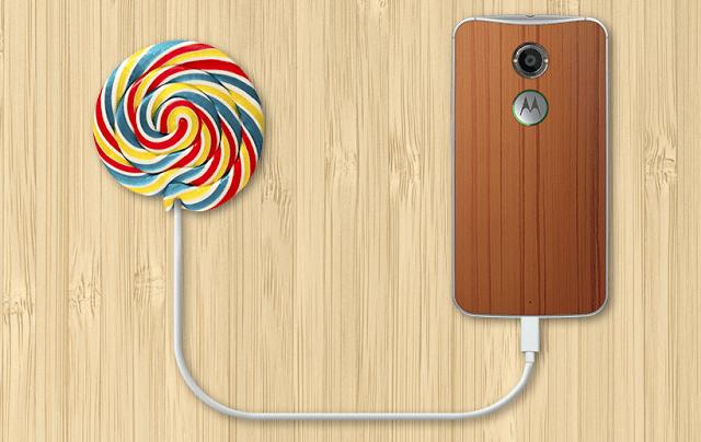 Moto X 2nd Gen. Pure Edition lollipop