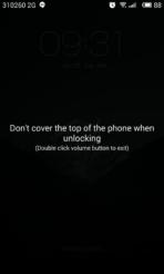meizu mx4 lockscreen proximity