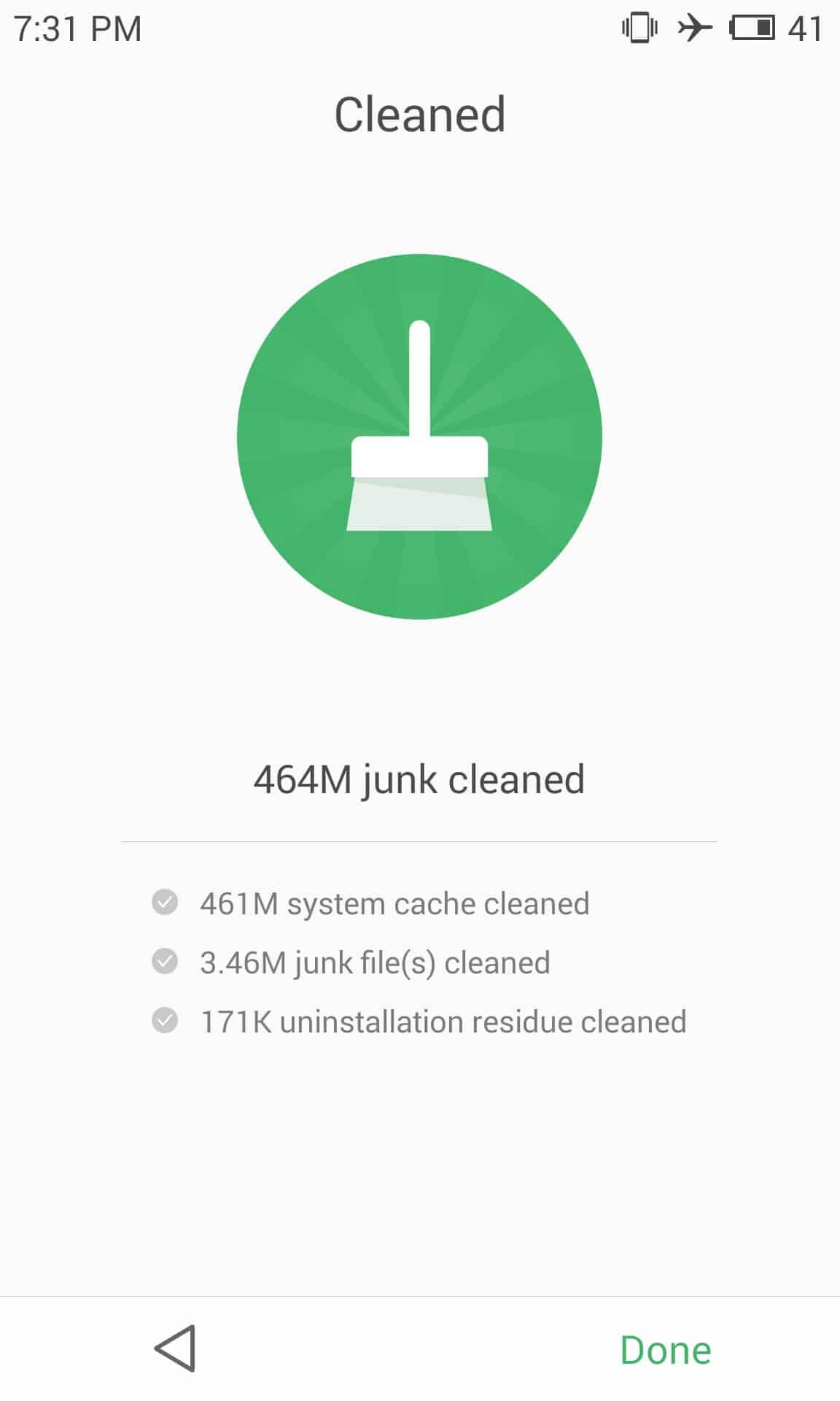 meizu mx4 security clean