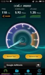 meizu mx4 speedtest tmo