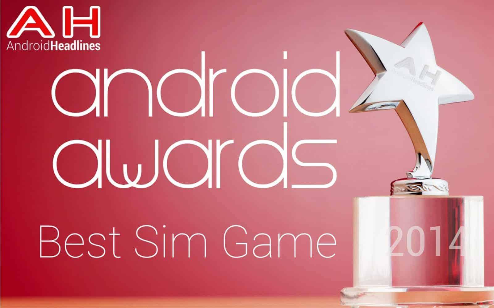 AH Awards 2015 Best Sim Game