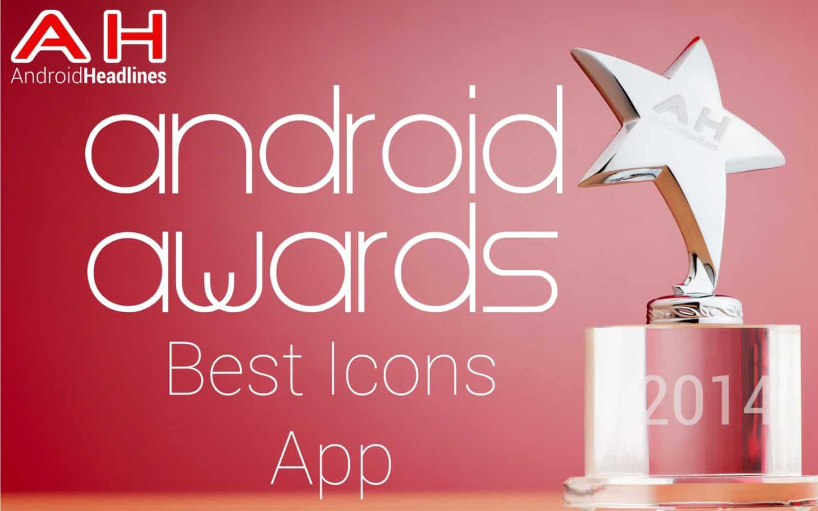 AH Awards 2015 _ Best Android Icons App