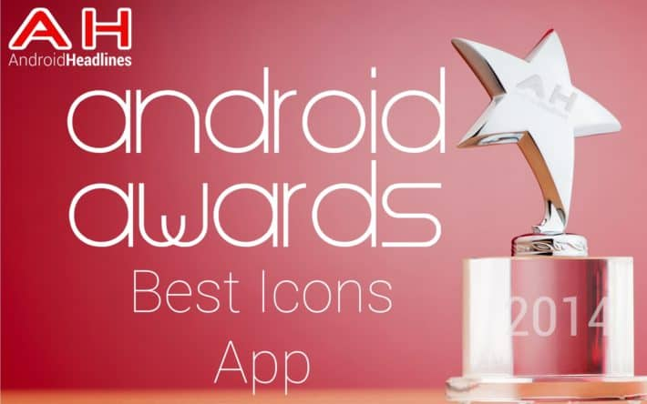 AH Awards 2015 Best Android Icons App