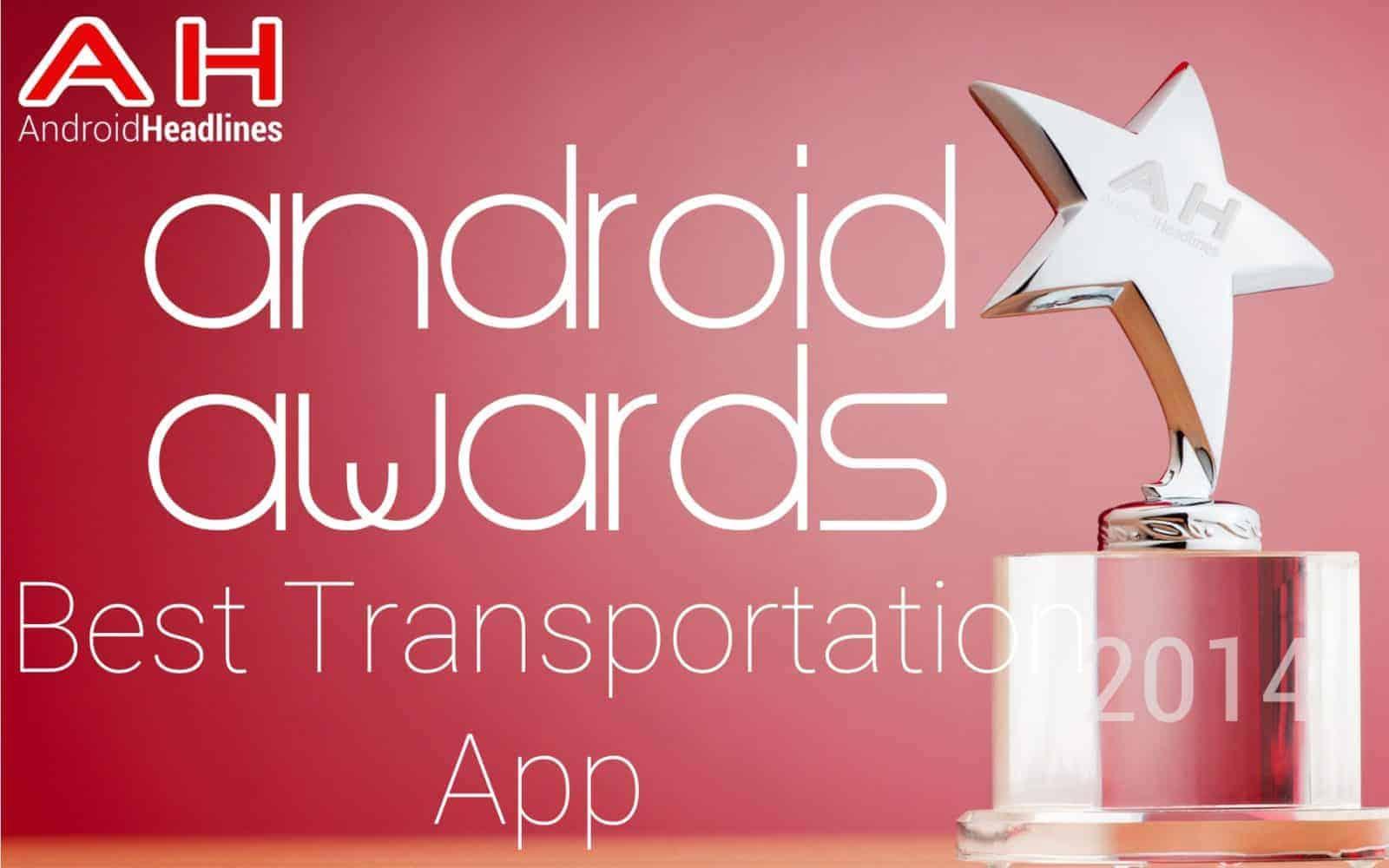 AH Awards 2015 _ Best Android Transportation App