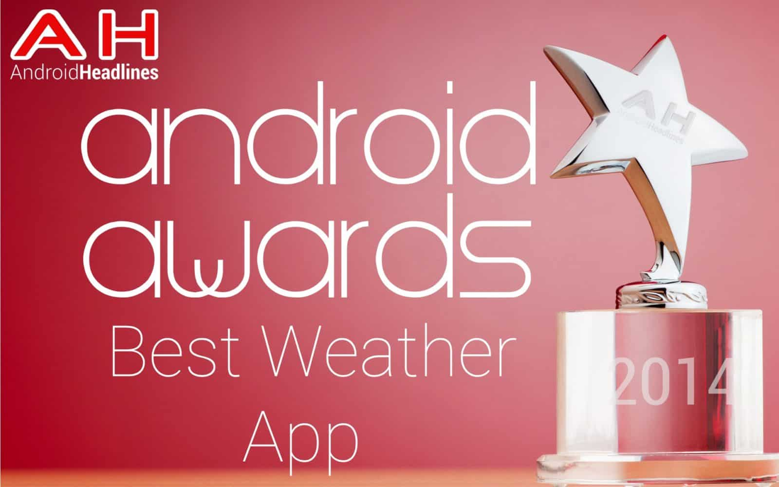 AH Awards 2015 _ Best Android Weather App