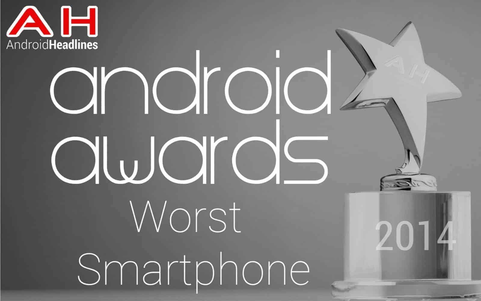 AH Awards Worst Smartphone 2015
