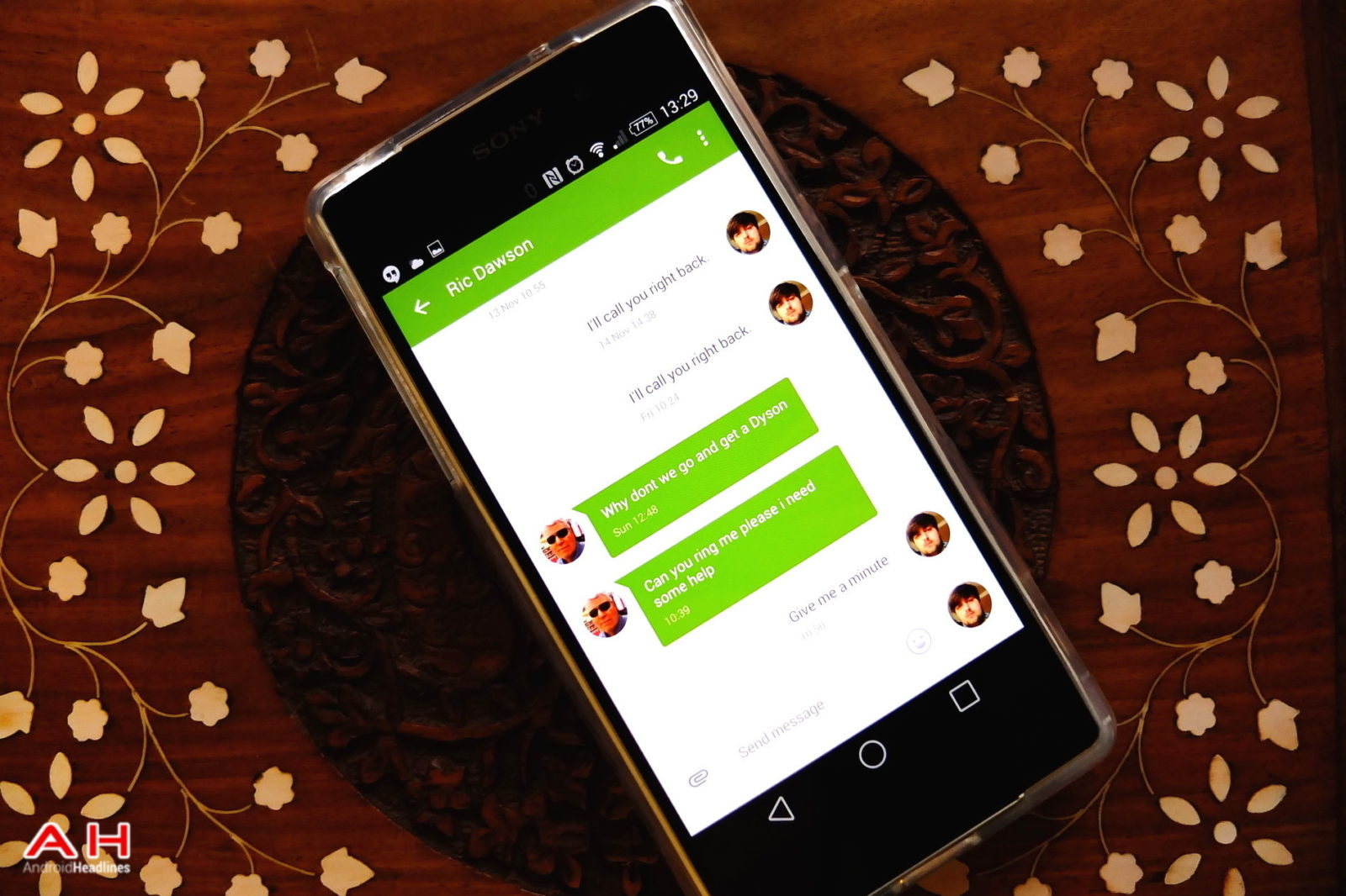Google Messenger Gets Updated; Now Allows You to Change Conversation ...