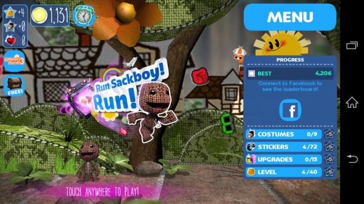 Android Game Of The Week: Run Sackboy! Run!