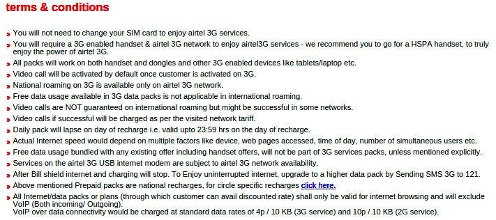 Airtel-VOIP-data