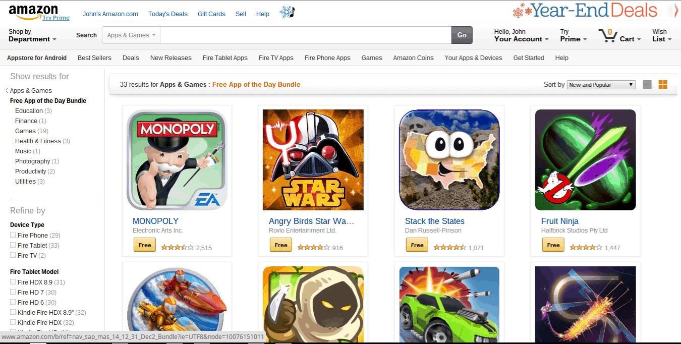 Amazon NY App Bundle