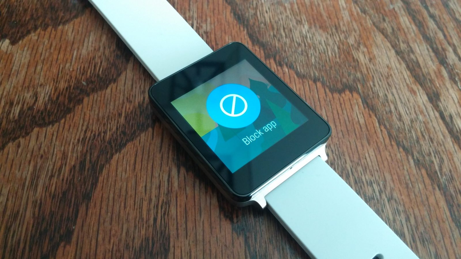 Android Wear Block