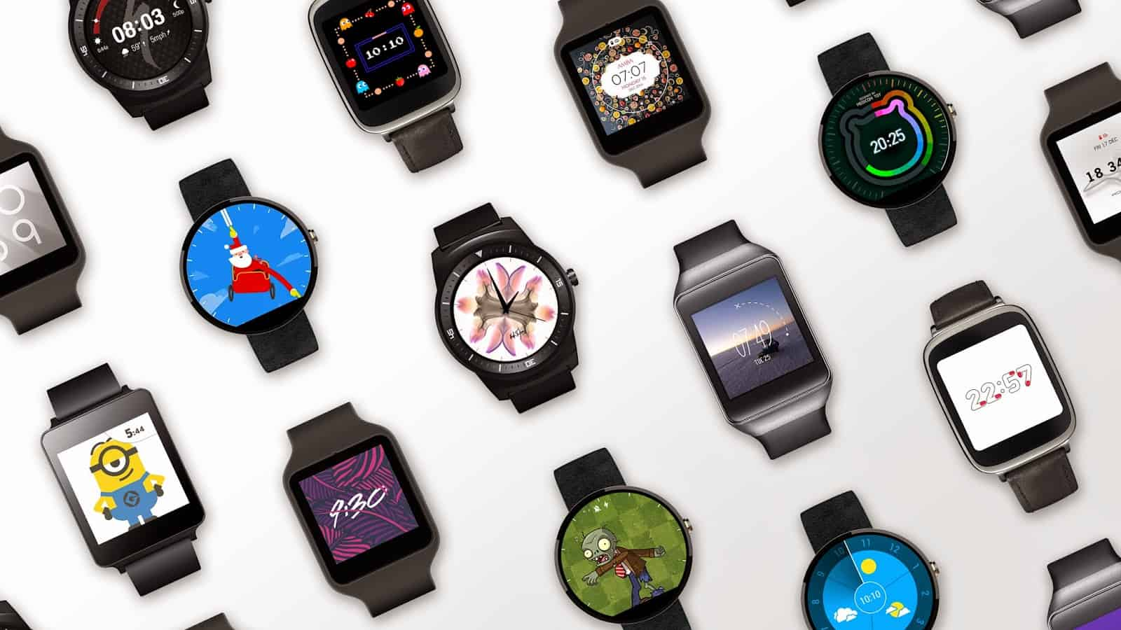 Android Wear smartwatches (Android 5.0)