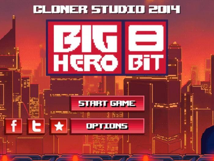 Big Hero 8 Bit