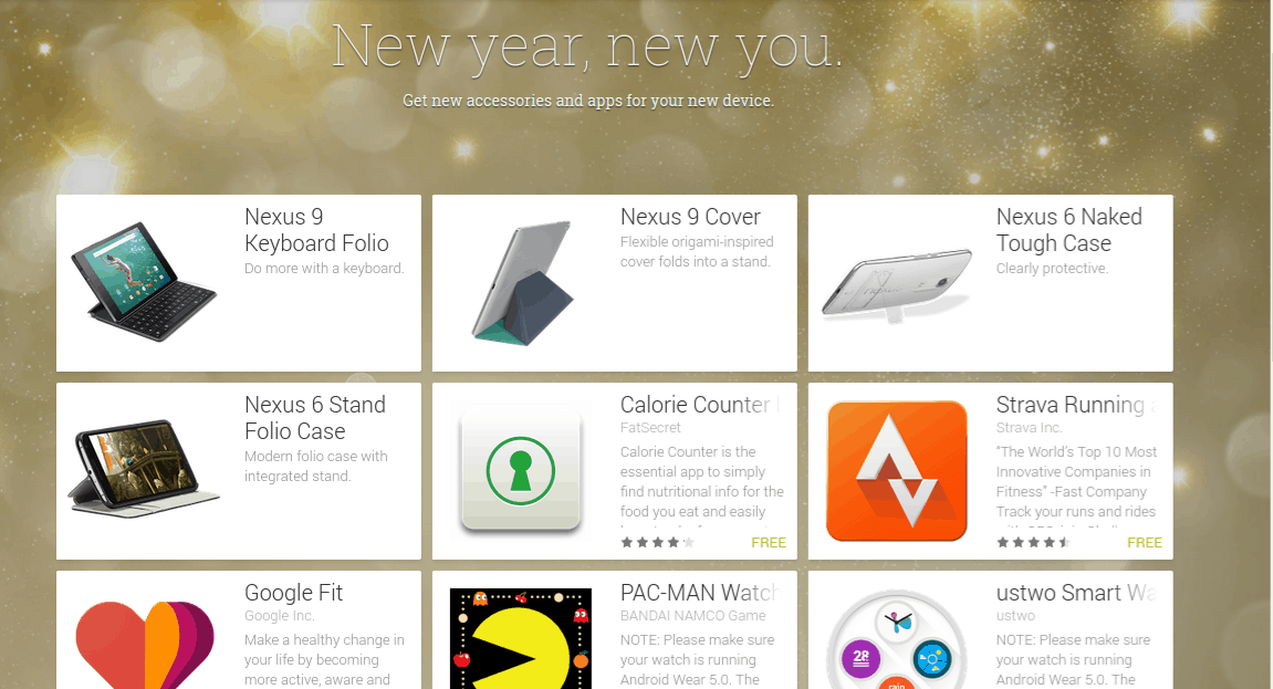 Google New year new you