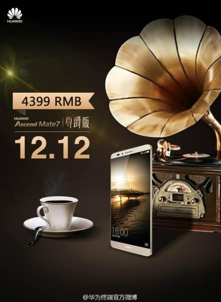 Huawei Ascend Mate 7 Monarch teaser image