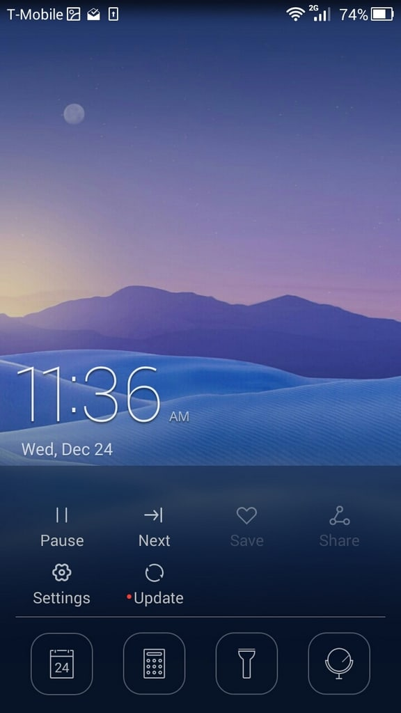 Huawei Honor 6 UI lock 1