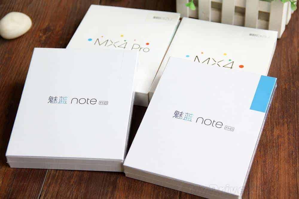 Meizu M1 Note unboxing China 2