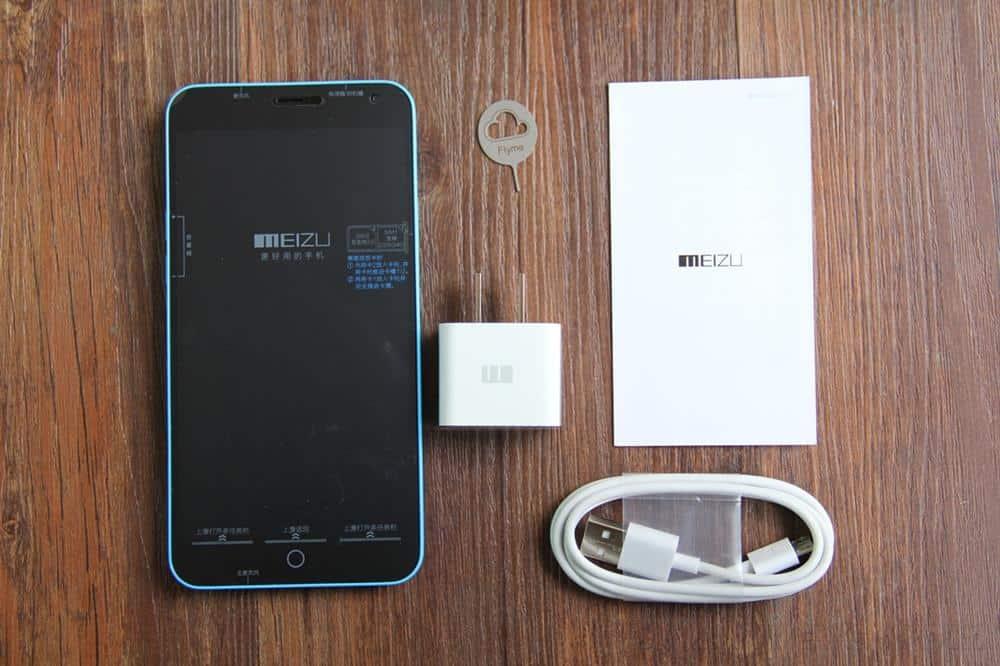 Meizu M1 Note unboxing China 6