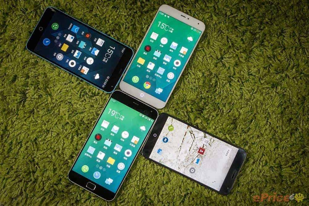 Meizu MX3 vs MX4 vs MX4 Pro vs M1 Note_13